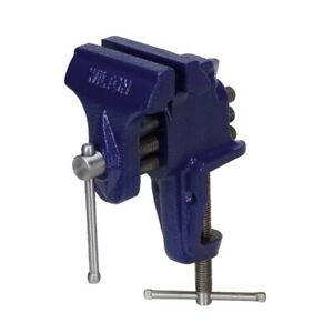 Wilton 33150 150 Bench Vise Clamp on Base 3 Jaw 2 1 2 Maximum Jaw Opening