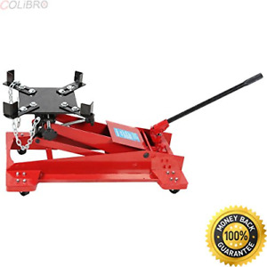 Colibrox 1100lb 0 5 Ton Low Profile Transmission Hydraulic Jack Auto Shop Low
