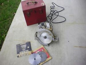 Vintage Porter Cable Speedmatic Circular Saw Runs Cuts Well