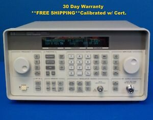 Agilent Hp Keysight 8648c W 1e5 Synthesized Rf Signal Generator 9 Khz 3000 Mhz