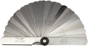 Mitutoyo 950 251 Thickness Feeler Gage Set 0 002 0 035 Thickness Straight 3