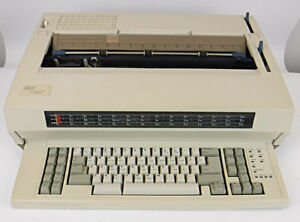Ibm Lexmark Wheelwriter 1500 Electronic Typewriter 6783 011 Tested