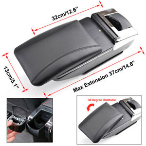 Universal Car Center Console Storage Box Armrest For Ford Bmw Toyoto Arm Rest