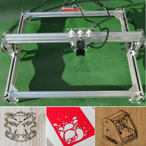 Us 50x65cm Laser Engraving Cutting Machine Cnc Engraver Printer Kit 300mw Hot