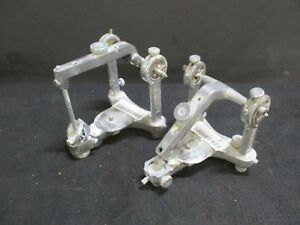Lot Of 2 Hanau Dental Laboratory Articulators For Occlusal Plane Analysis