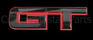 Red Emblem Logo Glow Led Rear Trunk Lid Decklid Fits 2015 2017 Ford Mustang Gt