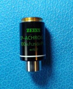 Zeiss 1007 159 Cp achromat 100x 1 25 Oil Ph2 Infinity 0 17 Microscope Objective