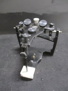 Denar Dental Laboratory Articulator For Occlusal Plane Analysis 67075