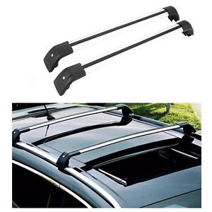 For 2015 17 Kia Sorento Top Roof Rack Cross Bars Cargo Luggage Carrier Aluminum
