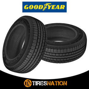 2 New Goodyear Wrangler Sr a P255 70r16 109s Owl Quiet All Season Tires