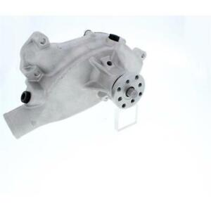 Chevy Big Block V8 Mechanical Water Pump Type Short Water Pump Natural Aluminum