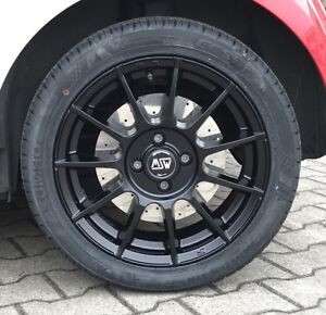 Msw Alloy Wheels Black Smart Forfour 453 Summer Tyre Kumho Rdks 16 Inch