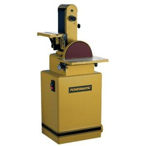 Powermatic 1791292k 31a Belt disc Sander 2hp 3ph 230 460v