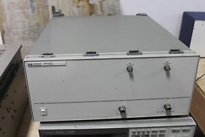 Hp Agilent 89440a Vector Signal Analyzer 89431a Rf Section