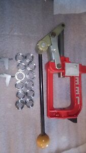 Single stage Lee Precision Breech Lock Challenger with 12 bushings