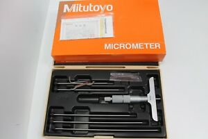 Mitutoyo 129 132 Depth Micrometer 0 To 6 L380832a tk
