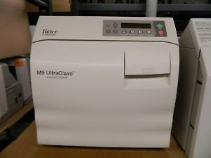 Ritter By Midmark M9 Ultraclave Automatic Sterilizer refurbished