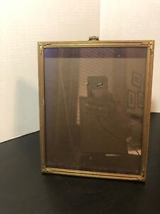Vintage Ornate Metal Picture Frame 8x10 Picture