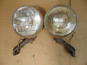 Vintage Arrow Model 500 Driving Fog Lights Ford Chevy Dodge Truck Tractor