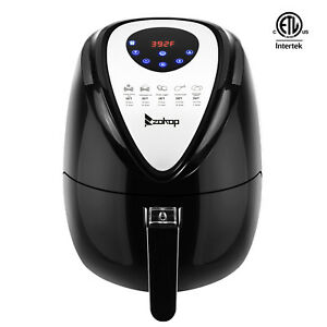 Electric Air Fryer 1500w 3 7 Quart Oil Free With Timer And Temperature Control