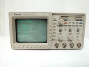 Tektronix Tds460a Digital Oscilloscope 400 Mhz 4 channel W opts 05 1f