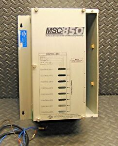 Iis Industrial Indexing Systems Msc 850 Servo Motion Controller Power Supply