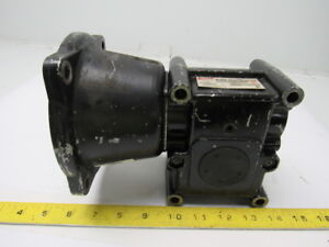 Browning 15c56lr10 Speed Reducer Worm Gear Box 10 1 Ratio 175 Rpm 56c Left Hand