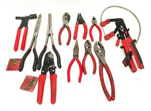 ma4 Mac Tools 11 Piece Pliers Mixed Tool Set