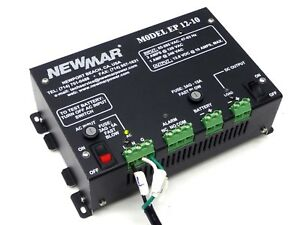 Newmar Ep 12 10 Enclosure 13 8v 12v 10a Power Supply Battery Charger 465 4835 0