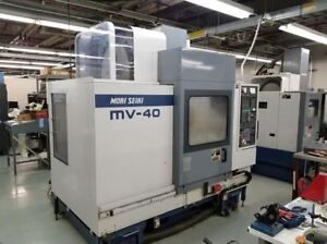 Mori Seiki Mv 40 40 Cnc Vertical Machining Center