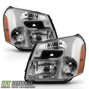 2005 2006 2007 2008 2009 Chevy Equinox Headlights Headlamps Replacement 05 09