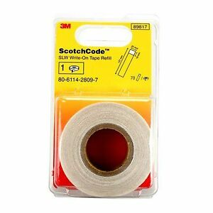 3m slw refill Write on Tape Refill price Is For 1 Each