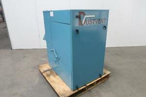 Dustvent 200h3 Dust Collector 208 230 460 3 Hp 10 In Duct Inlet T129200