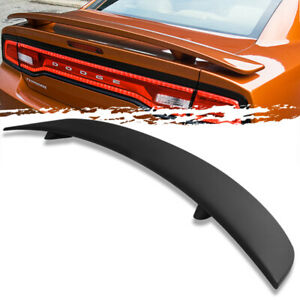 For 11 18 Dodge Charger Factory Style Unpainted Rear Trunk Deck Lid Spoiler Wing