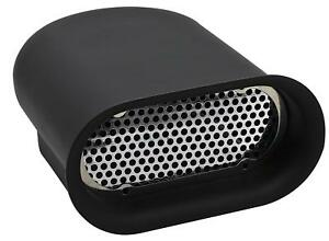 Plain Black Hillborn Style Aluminum Mini Air Scoop