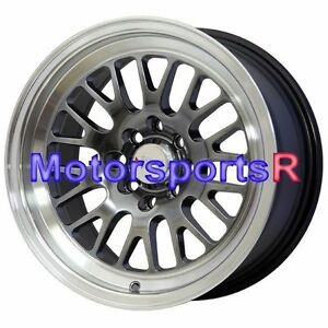 Xxr 531 16x8 20 Chromium Black Wheels Rims Stance 4x100 94 01 Acura Integra Gsr