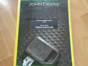 John Deere 4410 Compact Tractor Factory Parts Catalog 312 Pgs Oem
