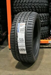 2 New Michelin Pilot Sport A S 3 97y 45k Mile Tires 2454018 245 40 18 24540r18