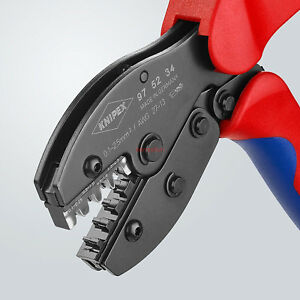 Knipex Preciforce Crimping Pliers Crimpers Non insulated Terminals 97 52 34