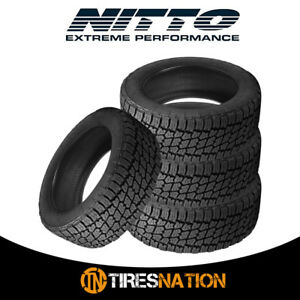 4 New Nitto Terra Grappler G2 Lt285 70r17 E 10 121 118s Tires