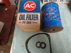 Nos New Ac Oil Filter Ac Pf 344 Ford Truck Parts 1958 1969 B8c 6731 A Blue