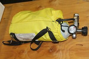 Msa Transaire Emergency Breathing Apparatus Respirator 15 0 Cu Ft 3000 Psi