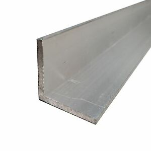 6063 t52 Anodized Aluminum Architectural Angle 2 X 2 X 72 1 8