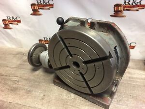 Troyke 9 Horizontal Vertical Rotary Table u 9