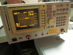 Advantest R3361cn Spectrum Analyzer 9 Khz To 2 6 Ghz Tracking Generator 75 Ohms