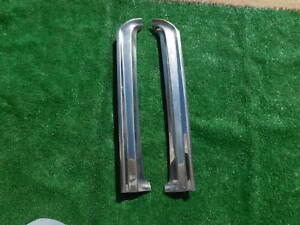 1966 1967 Ranchero Windshield Post Exterior Stainless Trim 66 67