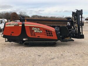 07 Ditch Witch Jt2020 Directional Drill 817 221 1036
