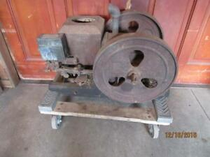 Antique Vintage Stover Economy Sears Roebuck Gas Engine Throttler Ht Miss 2hp