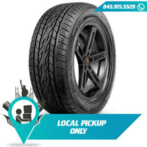 Local Pickup 107t Tire Continental Cross Contact Lx20 Owl 245 65r17 Set Of 2x