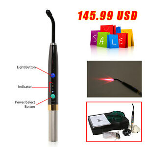 Dental Diode Soft Tissue Laser Wireless Laser Pen Surgical Medical Device Pad F3